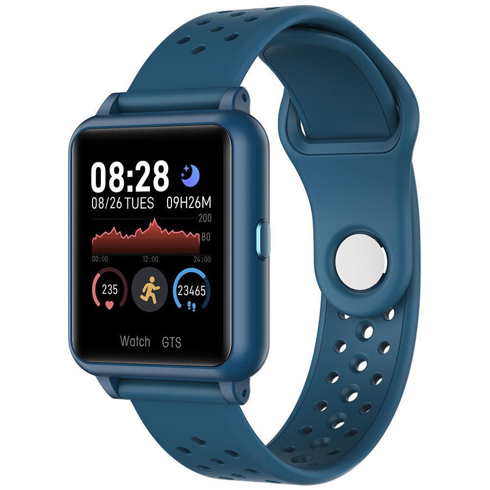 Para ios SmartWatch relojes inteligentes iPhone de Apple pantalla a color inteligente Reloj Bluetooth para el reloj elegante androide inteligente relógio