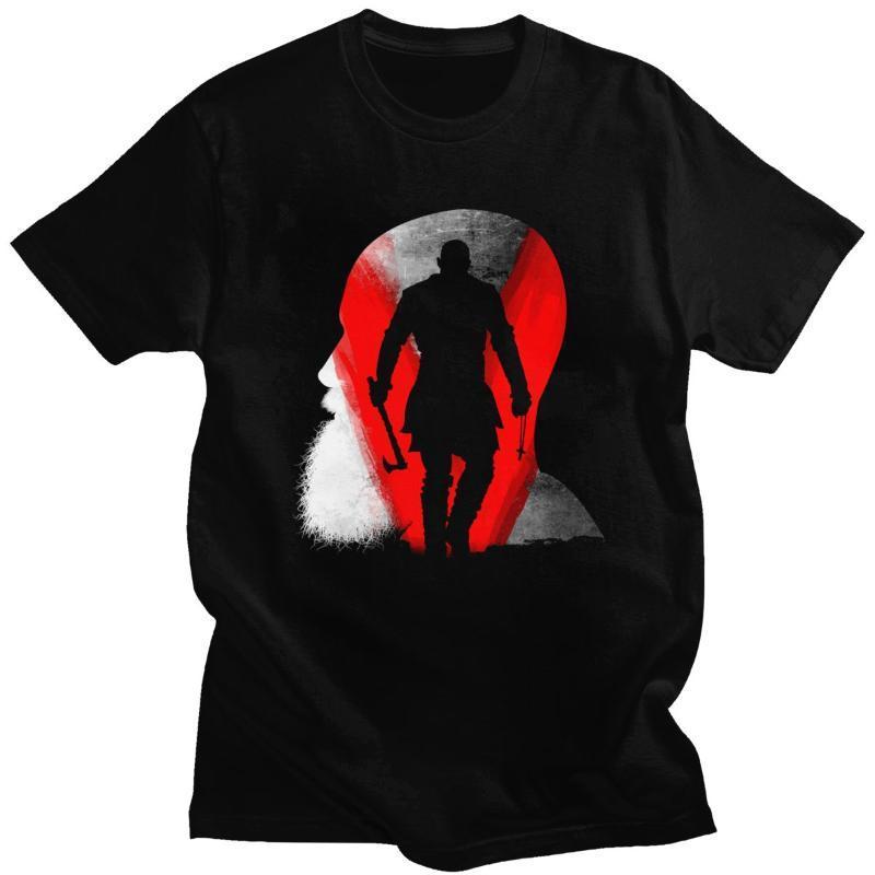 V élégant pour T Norse Viking T-shirt pour homme manches courtes nordique Roi Ragnar Lothbrok scandinave T-shirt en coton T-shirt Idée cadeau
