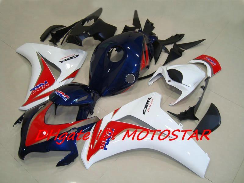 H182 HRC ABS fairing kit for 2008 2009 2010 2011 Honda CBR1000RR CBR 1000 RR CBR1000 08 09 10 11