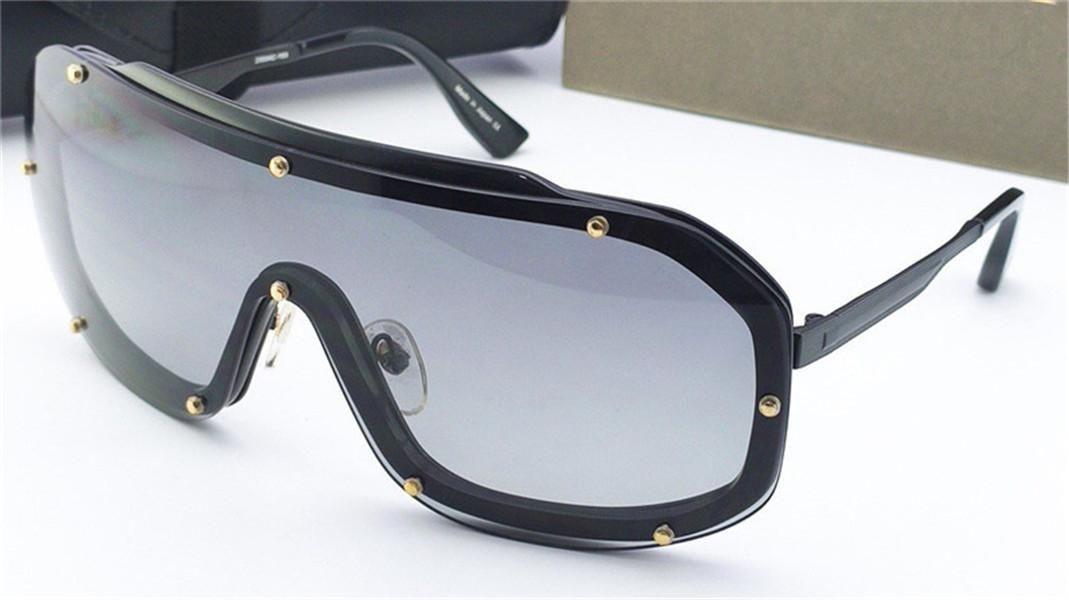 النظارات الشمسية الجديدة الرجال تصميم الرجعية النظارات الشمسية LASER 23004 إطار كبير برشام مربع حماية حملق الأشعة فوق البنفسجية 400 عدسات النظارات الواقية في الهواء الطلق