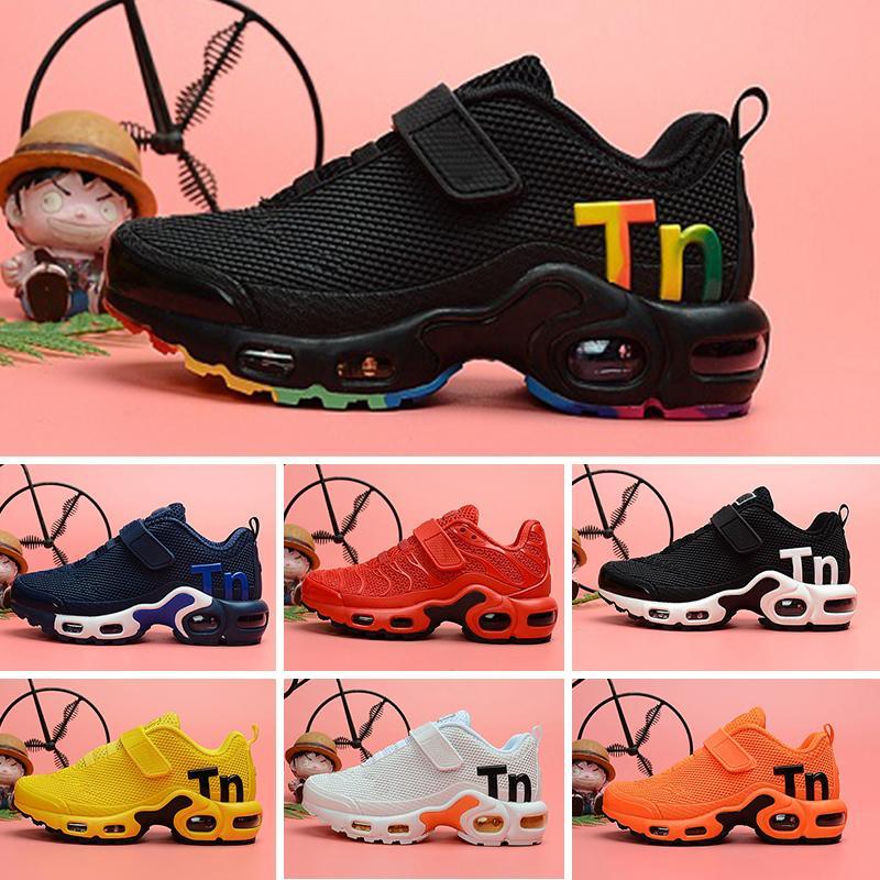 Nike Mercurial Air Max Plus Tn 2019 Kinder TN Plus Designer Sport Laufschuhe Kinder Jungen Mädchen Trainer Tn Sneakers Classic Outdoor Kleinkind Schuh