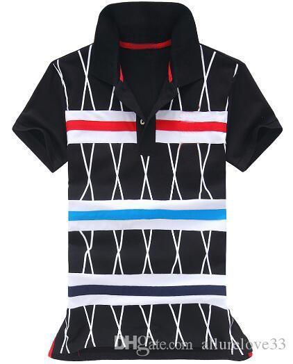 브랜드 남자 스트 라이프 Polos 짧은 소매 높은 품질 코 튼 미국 클래식 폴로 셔츠 큰 말 스포츠 T 셔츠 화이트 M-XXL
