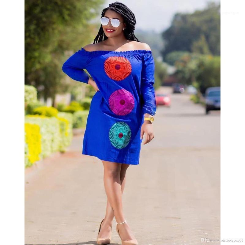 Flower Loose Dress Printed Sleeveless Floral One Piece Colorful Clothing Party Designer Women Dress Sexy Beach