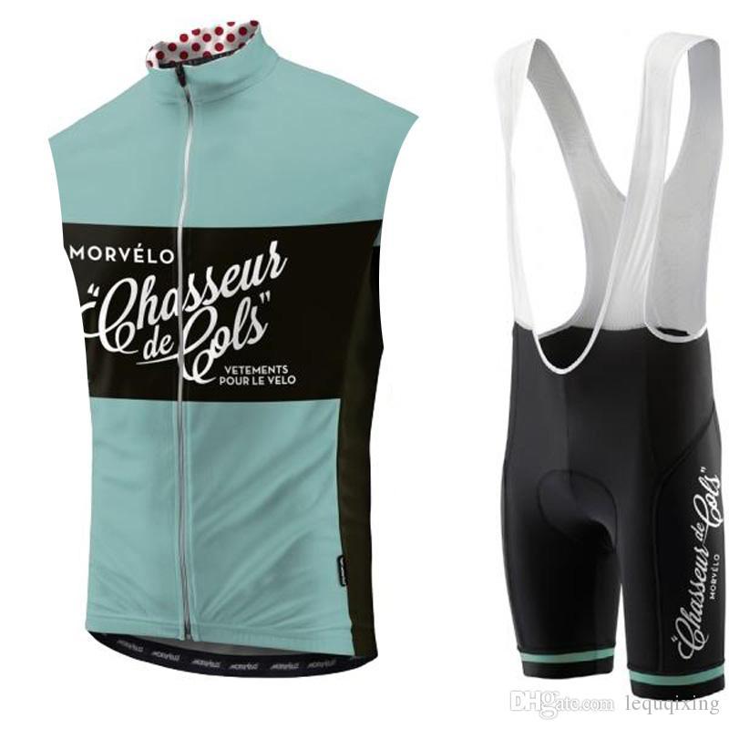 2019 morvelo team radfahren ärmelloses jersey weste shorts sets hochwertig atmungsaktiv fahrrad kleidung sport tragen shorts sets k053110