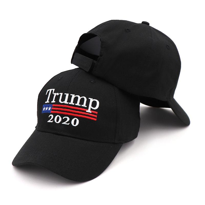 Großhandels-Donald Trump 2020 Baseball Cap Make America Great Again Hat Stickerei halten Amerika Großer Hut republikanischen Präsidenten Trump Kappen