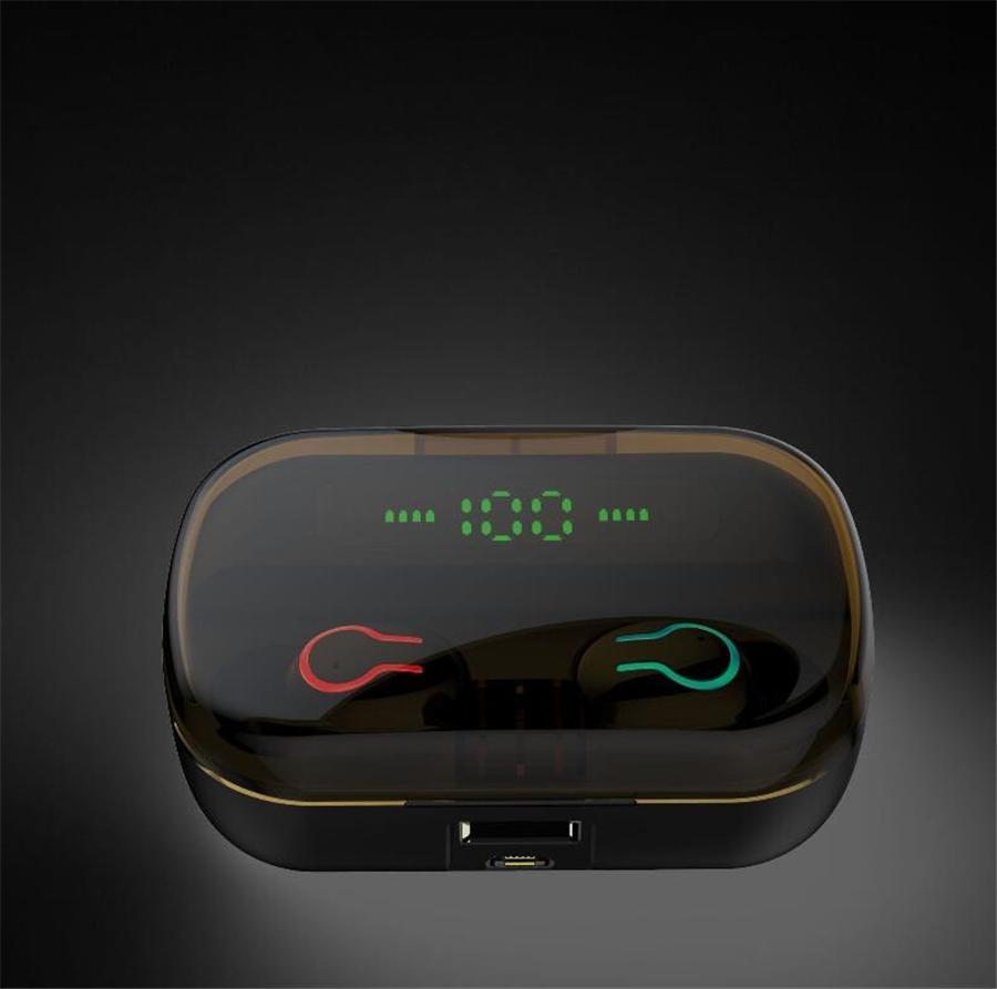 Оптовая I12 гарнитура TWS Wireless Pop Up Bluetooth 5,0 Спорт поддержки гарнитуры Беспроводные наушники Красочные Сенсорное управление Earbuds # OU559
