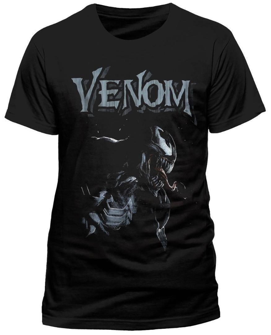 Marvel Men/'s Venom Profile T-Shirt