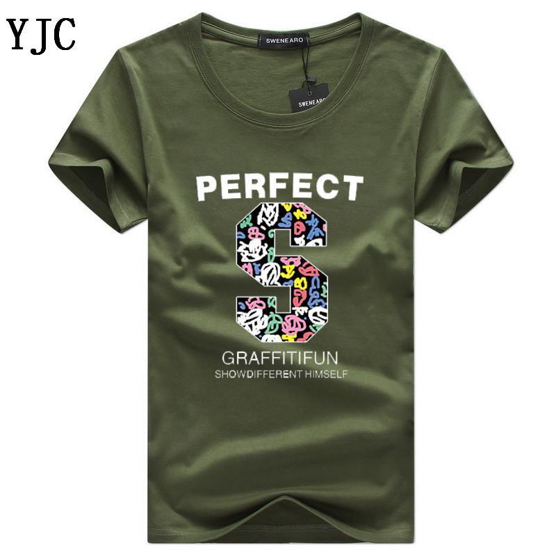 Baskılı Erkekler Tişörtlü Kısa Kollu Casual tshirt Hipster Fraktal Desen Tees tshirt Yeni Moda Letter Tops C-7 Soğuk