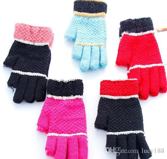 Ms зима теплой имитации кашемир трикотажные перчатки оптовых мужская мода велосипедное утолщение относится ко всей магической перчатке