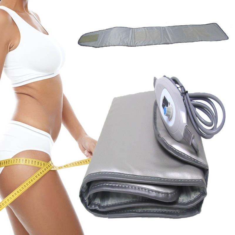 Elektrische Far Infrared Heizung heiße Kompresse Abnehmen Hüftgurt Band Schönheit Fitnessgerät für Arme Taille Waden-Klammer-Stütz