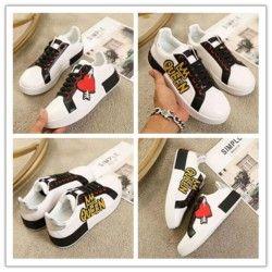 marque design Chaussures de marque Fashion Derbies Casual Chaussures Hommes Femmes plates top design de qualité Sneakers e073