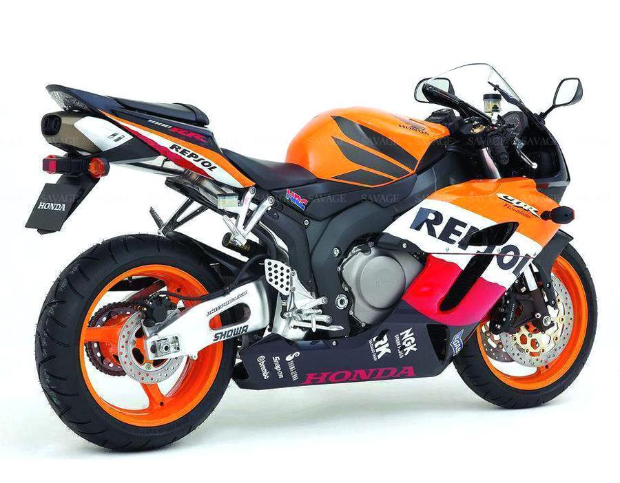 Support de Plaque Moto Garde-Boue arri/ère Titulaire de la Plaque for Honda CBR 600RR CBR600RR 03-06 04-05 CBR1000RR Num/éro de Licence Support de Plaque Support de Fixation