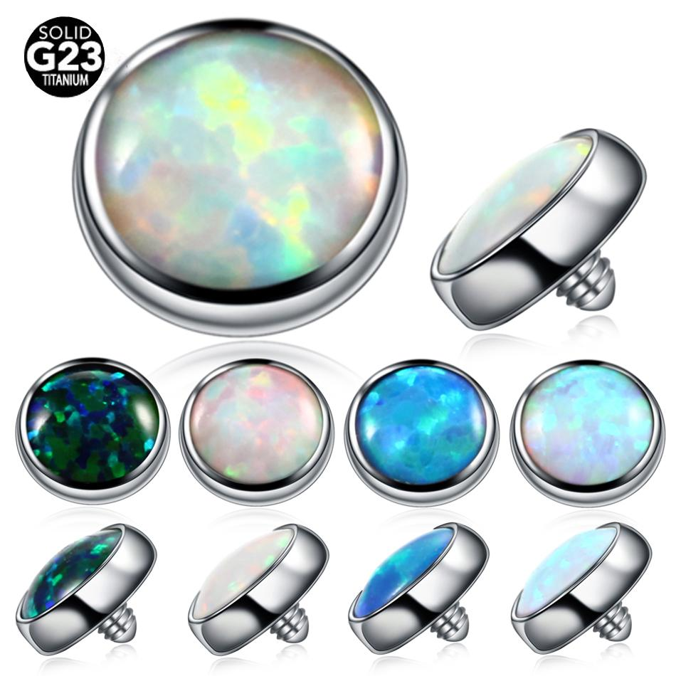 2020 G23 Titanium Opal Dermal Anchor Top Micro Dermal Piercing Micro Dermal Jewelry 3mm 4mm Surface Piercing Sex Body Jewelry From Ce2007 2 44 Dhgate Com