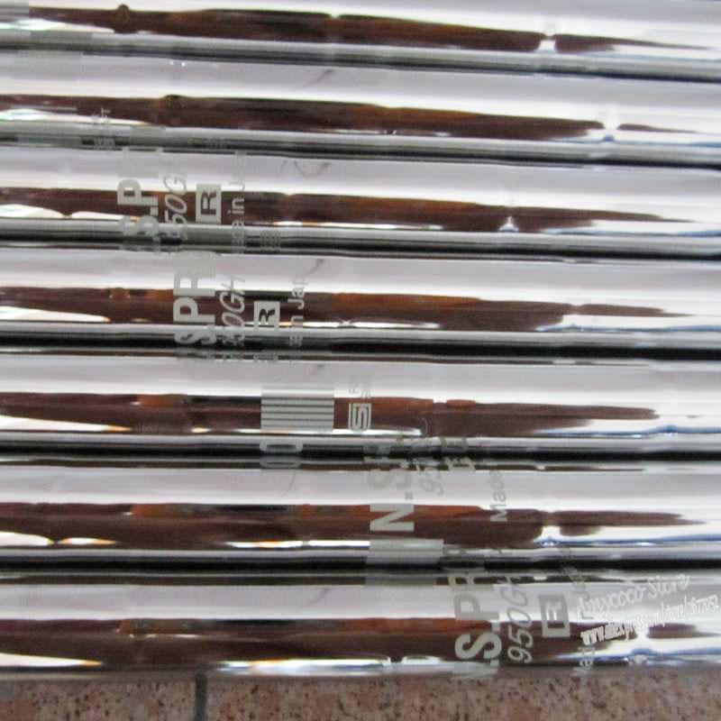 Homens Novos Clubes eixo N S PRO 950 Aço clubes do eixo R ou S Flex Irons Golf eixo 9pcs / lot Frete grátis