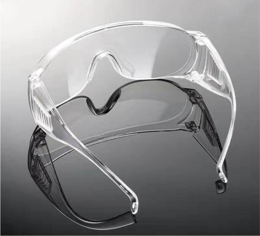Gogles transparents de sécurité pour la protection des yeux anti-brouillard