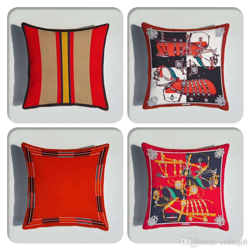 Capas de almofada New Art Europeia Praça fronha Home Decor Sofá Throw Pillow decorativa caso