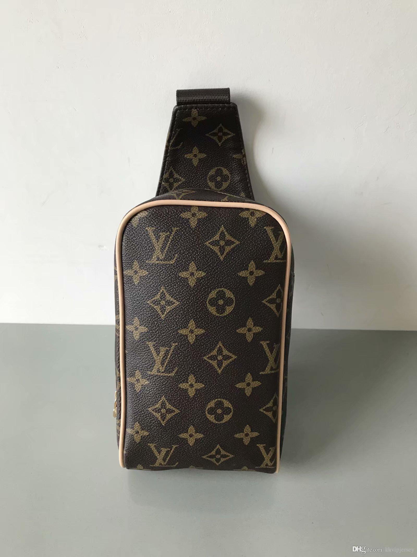 direkt gündelik erkek omuz çantası çok fonksiyonlu sırt çantası fabrikada açık Yeni göğüs çanta erkek Messenger göğüs yastığı