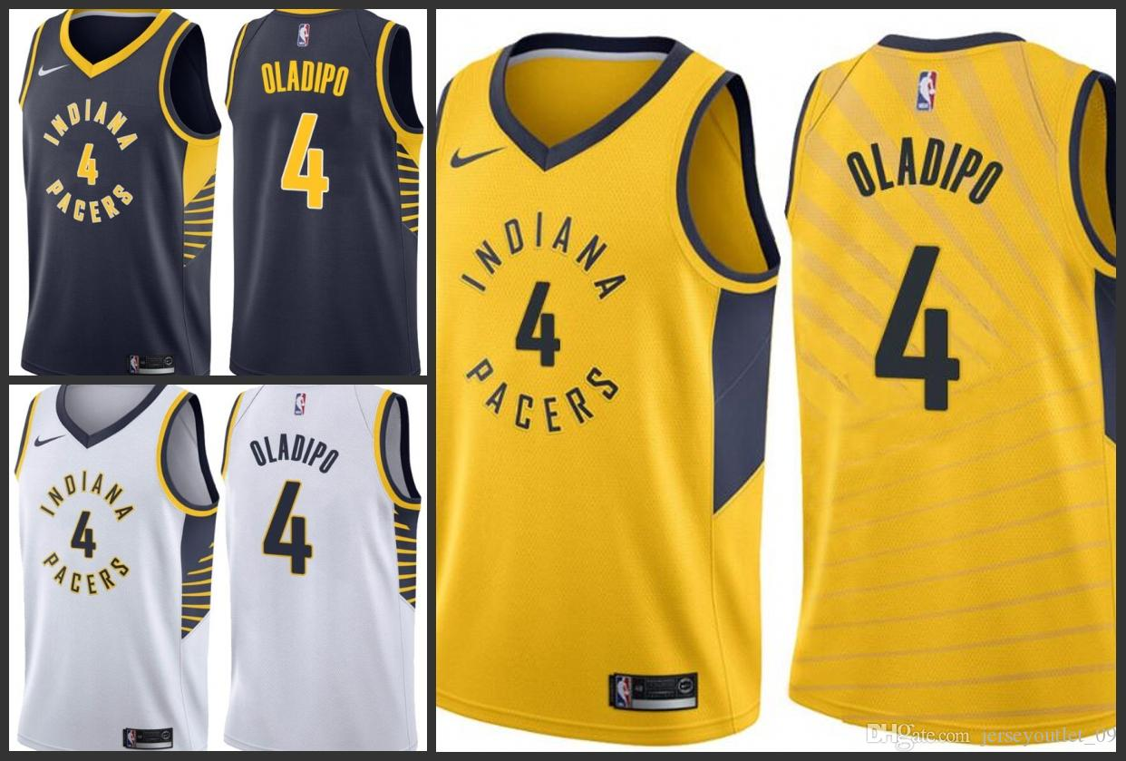 new style f0ab7 da1a1 2018 Season Indiana Men Pacers Jerseys Victor Oladipo Jersey White Prom  Tuxedos White Tie Tailcoat From Jerseyoutlet_09, &Price;  DHgate.Com