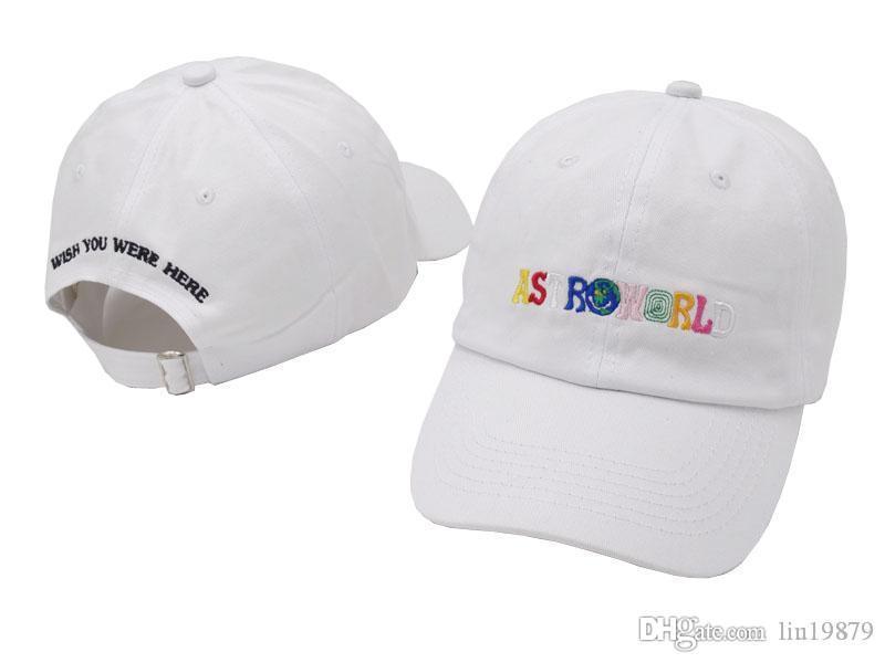 AstroWorld strackback 6 панелей бейсболки 2020 Новая мода Повседневная гольф спорт Мужчины Женщины Лето Стиль Bone Snapback Шляпы