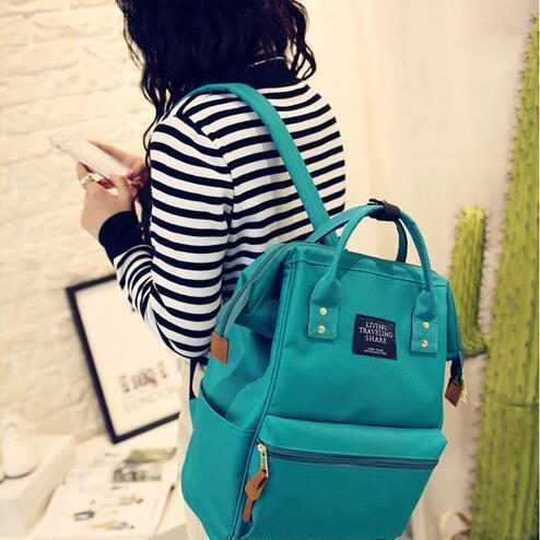 New Arrival Designer Backpacks For Teenage Girls Women Canvas School Bags 2019 New Fashion Shoulder Bags Casual College Bags