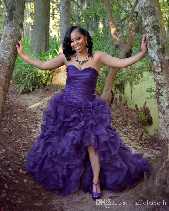 Modest Vintage Mermaid Purple Plus Size Wedding Dresses Split Front 2019  Bridal Wedding Gowns South Africa Wedding Dress Gown Backless Mermaid  Wedding ...