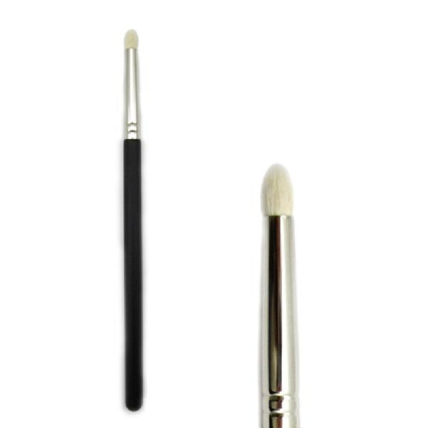 24 adet / grup-Sıcak Satış Yeni Kozmetik M 219 Göz Kapağı Gölge Kalem Fırçası Makyaj Keçi Saç Göz Kontur Vurgulama Konik Fırçalar Ücretsiz Kargo
