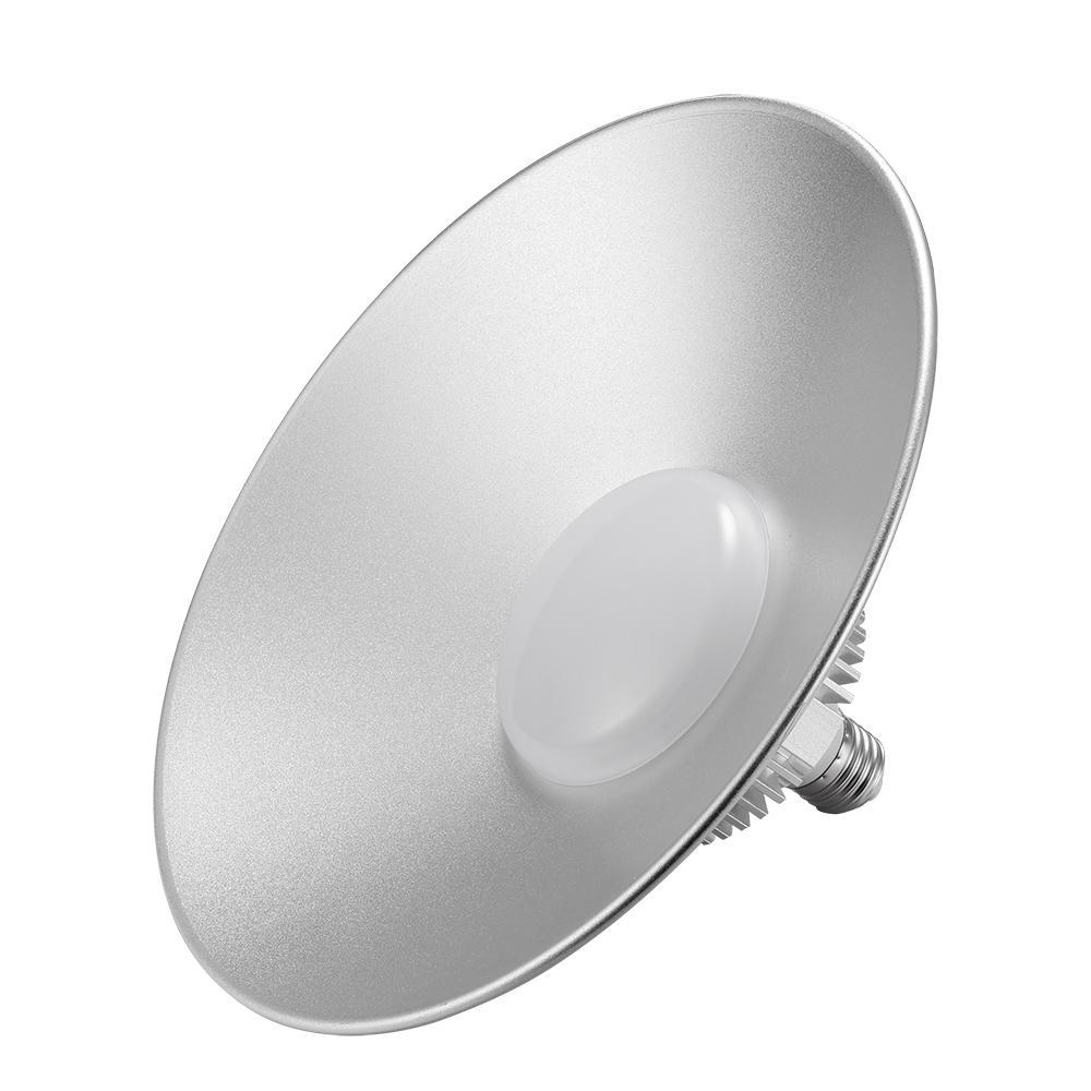 슈퍼 밝은 50w 마이닝 램프 밀짚 모자 220V LED 산업 전구 조명 창고에 대 한 높은 베이 UFO 빛 교수형 램프 고정 장치