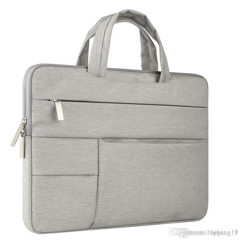 1PCS محمول مقاوم للماء حقيبة يد حقائب كمبيوتر محمول الرجال النساء حقائب قماش الحاسوب Bags13 14 15 بوصة حقائب سفر الساخن بيع