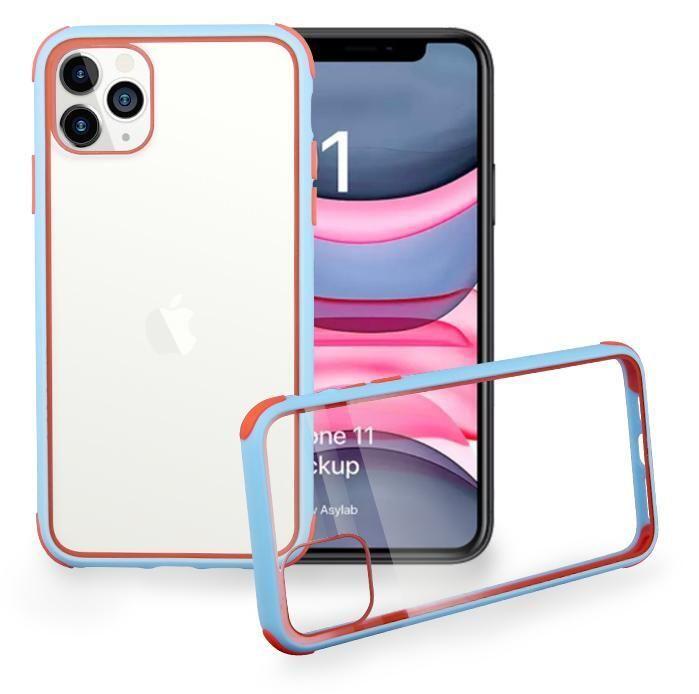 Nuovo acrilico del telefono delle cellule di caso per iPhone Pro 11 MAX 6 8 7 duro libero della copertura posteriore di Samsung note10 Inoltre antiurto in silicone