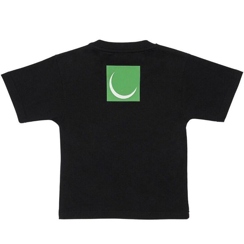 T camisa de los niños del niño del algodón Camisetas de manga corta de alta calidad Ronda cuello de la camiseta del muchacho del verano del bebé camiseta de las tapas