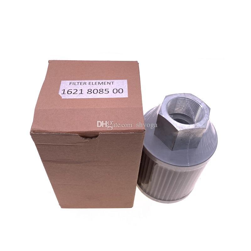2pcs de envio gratuitos / lot elemento de filtro hidráulico 1621808500 filtro de óleo alternativa para compressor de ar centrífugo