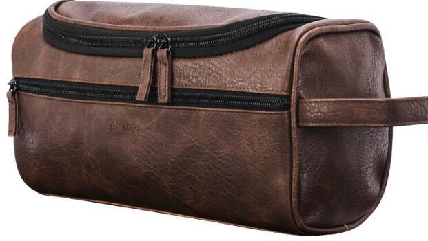 Makeup Package Wash Bag Bath Bag Multi Function Hook Storage Bag Korean Edition Portable Waterproof Fashion Pu Leather Sell Well 35 8ls k1