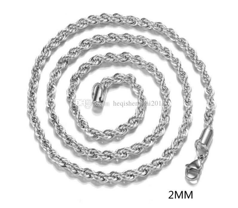"""lot of 8 chains wholesale Sterling Silver Necklace ROPE Chain 925 Italy 16/"""",18/"""""""