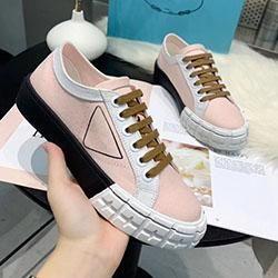 2020 otoño del verano del resorte de lona para mujer blanca tela de encaje hasta los zapatos casuales Formadores plataforma plana de goma-top deportivos MKN03