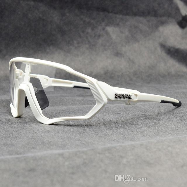 2020 Fotocromáticas gafas ciclismo Gafas Ciclismo Pesca Deportiva Gafas de sol Gafas de MTB Fietsbril gafas de Eyewear de la bicicleta Casecustom