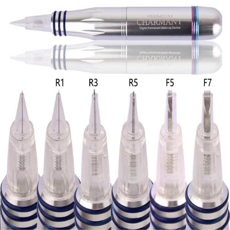 Advanced Tattoo Needles CHARMANT 1 Permanent Make-up Microneedle Electric Screw Makeup Tips Eyebrow Bleaching Lips Microneedles