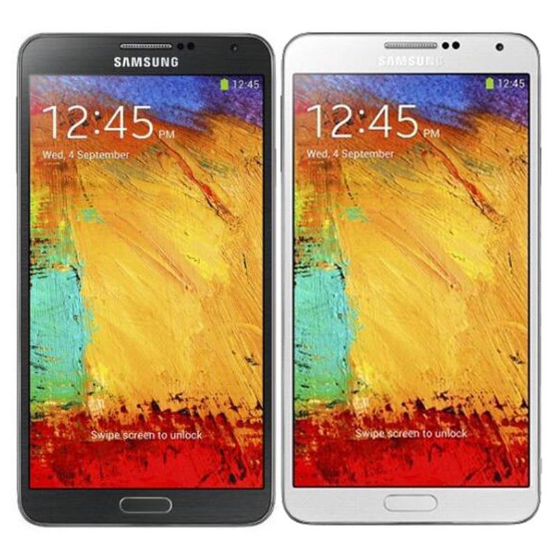Original Refurbished Samsung Galaxy Note 3 N9005 4G LTE 5.7 inch Quad Core 3G RAM 32GB ROM 13MP Smart Phone DHL 1pcs