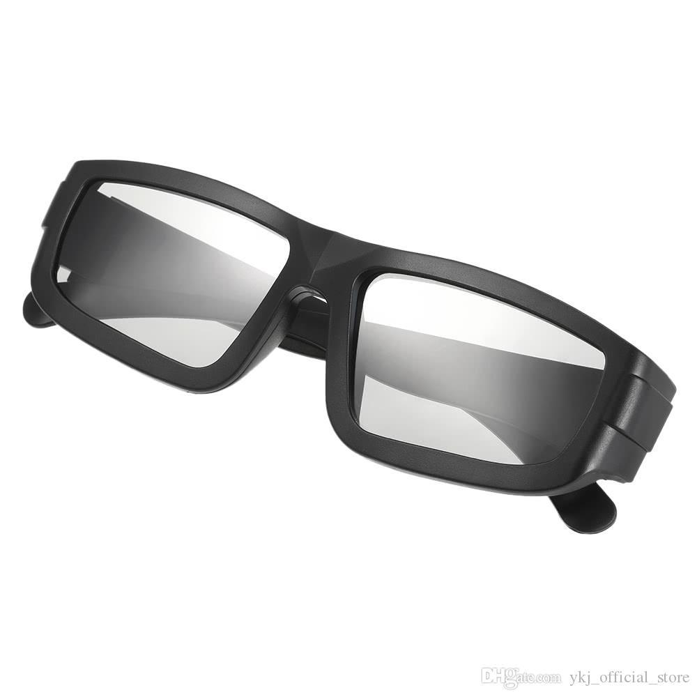 Occhiali 3D passivo VR realtà virtuale Occhiali circolari lenti polarizzate per Sony Panasonic Real TV D Film Cinema Teatri