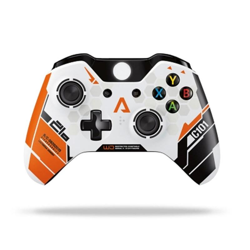 Mais novo controlador sem fio Gamepad Precise thumb Joystick Gamepad para Xbox One for X-box Controller 4 Cores em estoque Rápido transporte