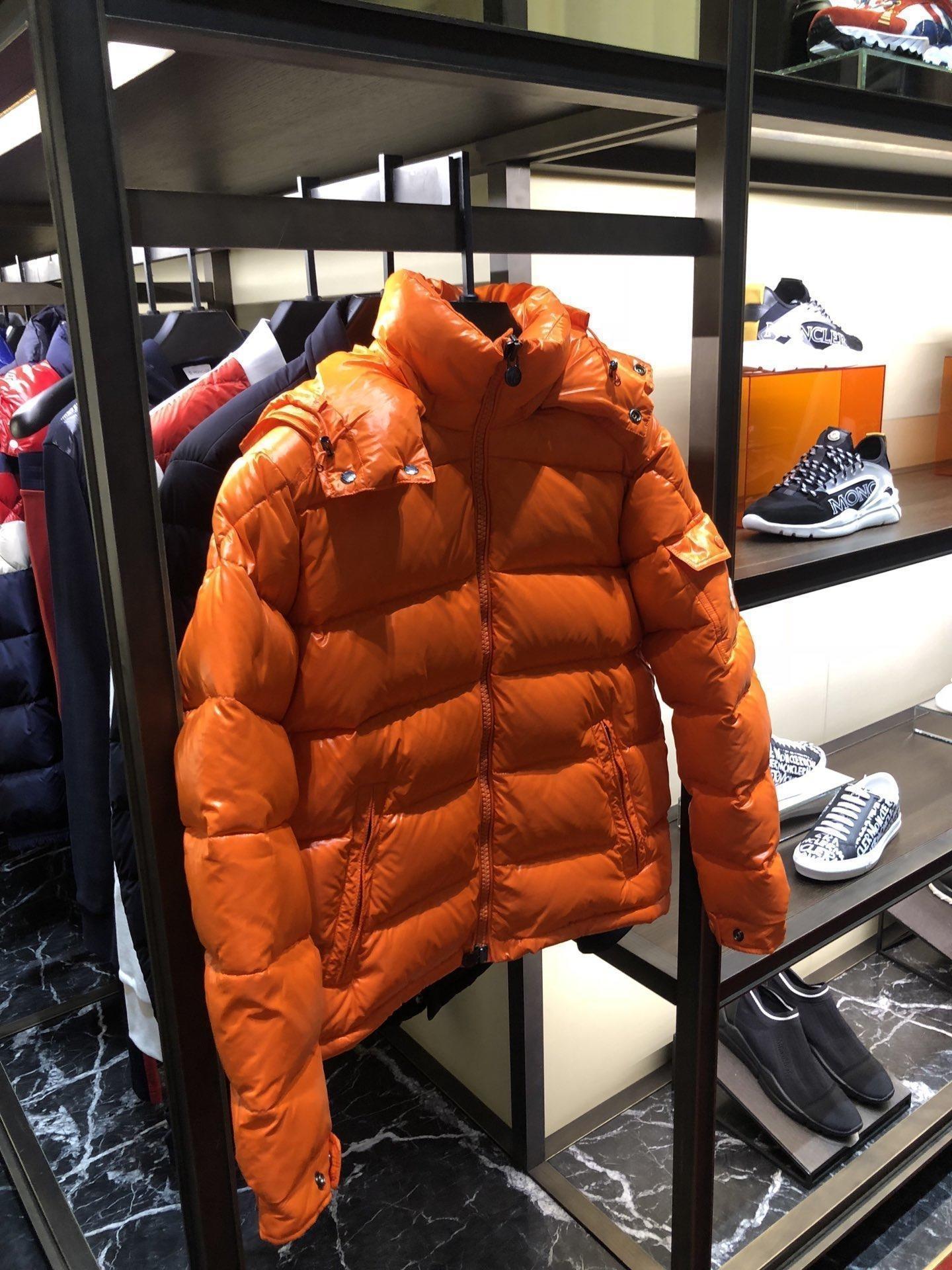 бренд одежды новые мужские сплошной цвет длинным рукавом молния куртки мужские пальто теплое пальто верхней одежды Parka куртки 8-32