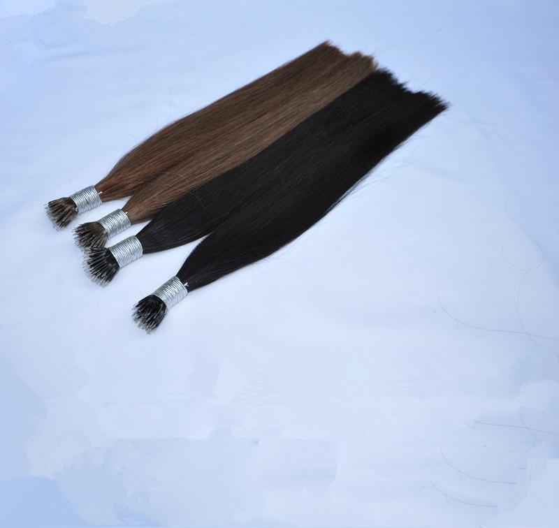 Blondes Silikon Nano Ring-Haar-Verlängerungen Nano Schleifen-Ring-Haar 1gr st 300ST Los, freies DHL