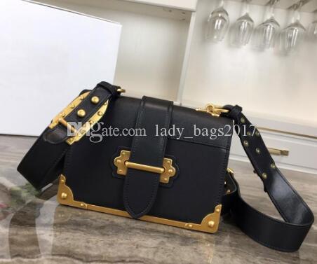 Newset Zincir Omuz Çantaları Çanta Kare Çantalar Gerçek Deri Kadınlar Debriyaj Messenger Bag Crossbody Totes toka Ekle 20cm