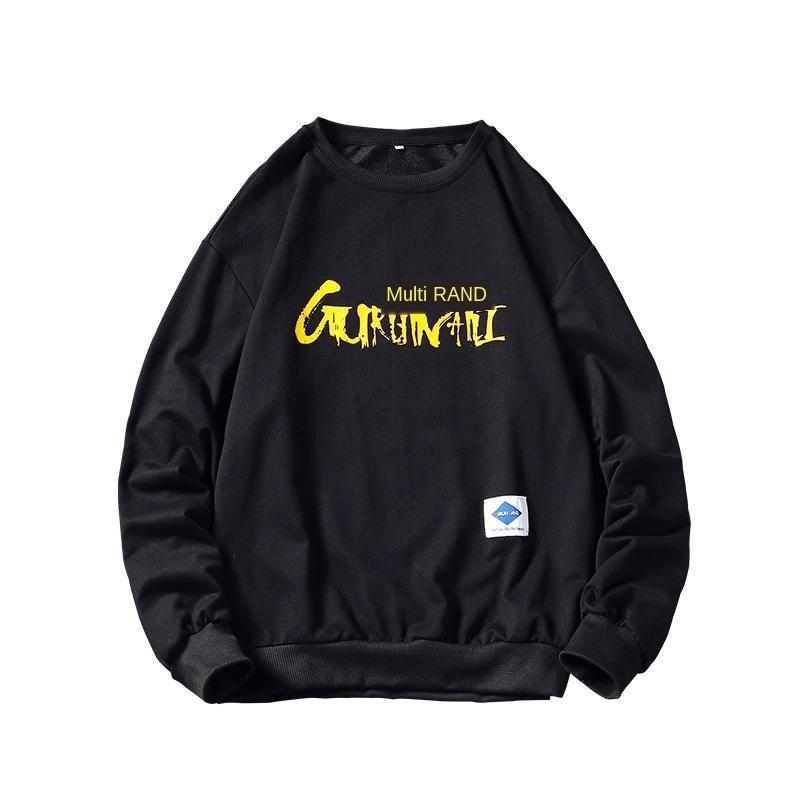 мужская дизайнерская толстовка с капюшоном носить свитер личность прилив бренд сезон молодежный спортивный свитер печатных футболка с длинным рукавом
