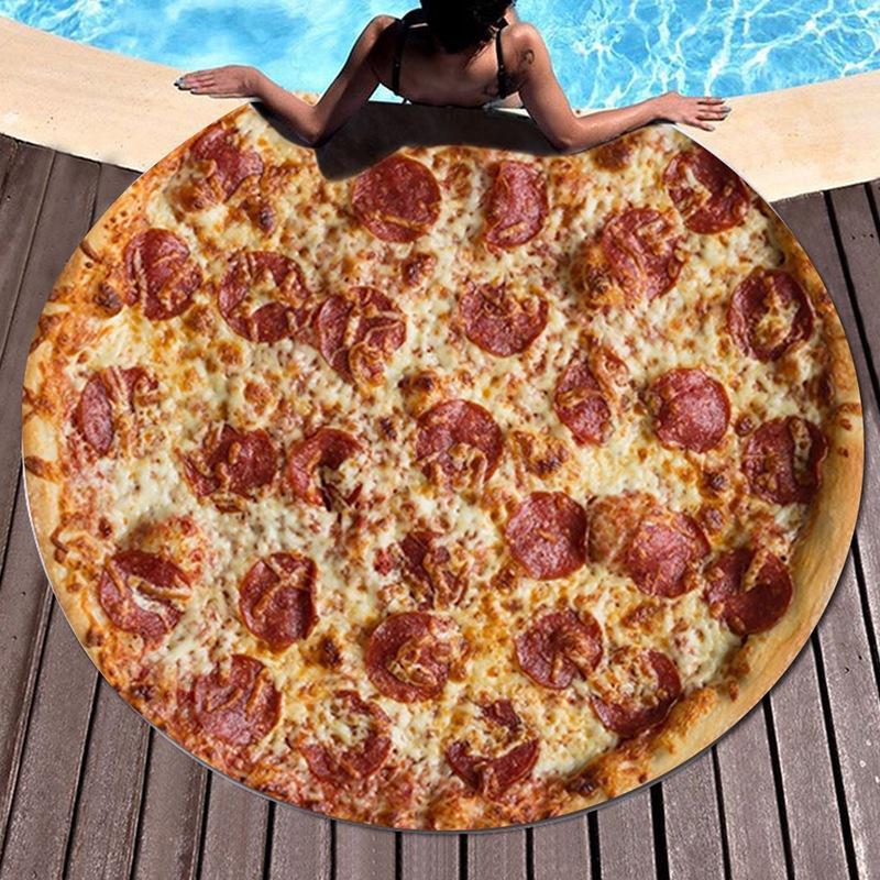Kundaklama Wrap Pizza Sleeping Botique-Pizza Börek Bebek Battaniye Un Tortilla Kundaklama Battaniye