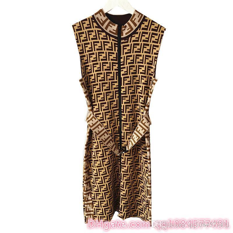 Летние женские новые без рукавов молния трикотажные платья платья для женщин вскользь летнее женское белье размер S-L