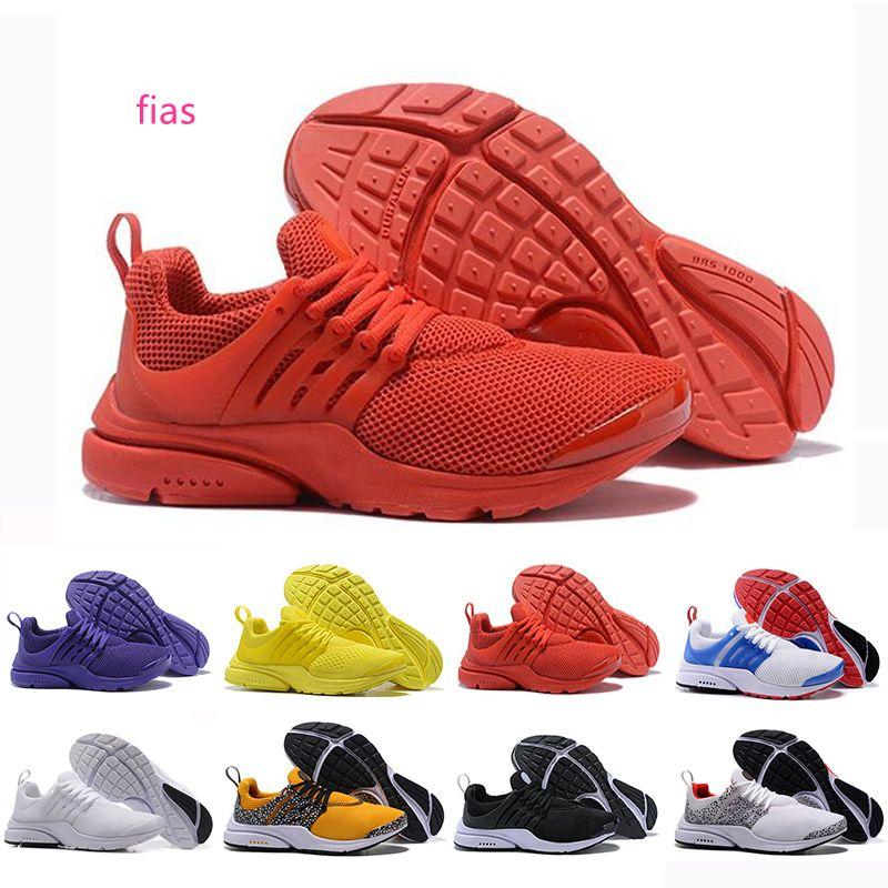 2019 presto Men Women Running Shoes Comft Red Ultra Unholy Cumulus mens trainers BR QS 96 designer Jogging sports sneakers 36-45