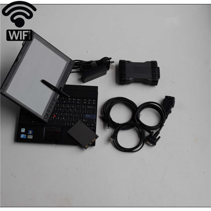 أداة تشخيصية ميغابايت نجمة C6 SD ربط زائد X201T أجهزة الكمبيوتر المحمول SSD 2019.12v D.AS/ DTS / ميجا ستار C6 لMB سيارات شاحنات