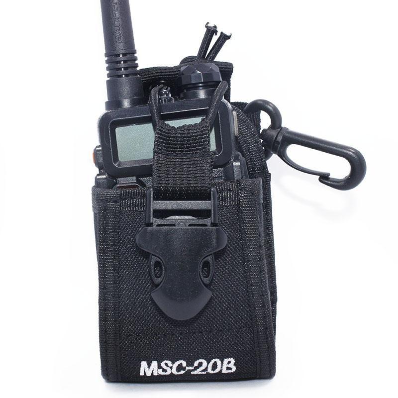 200pcs Baofeng Radio Case Holder MSC-20B Portable Pouch For Kenwood Yaesu ICOM Baofeng UV-5R Walkie Talkie