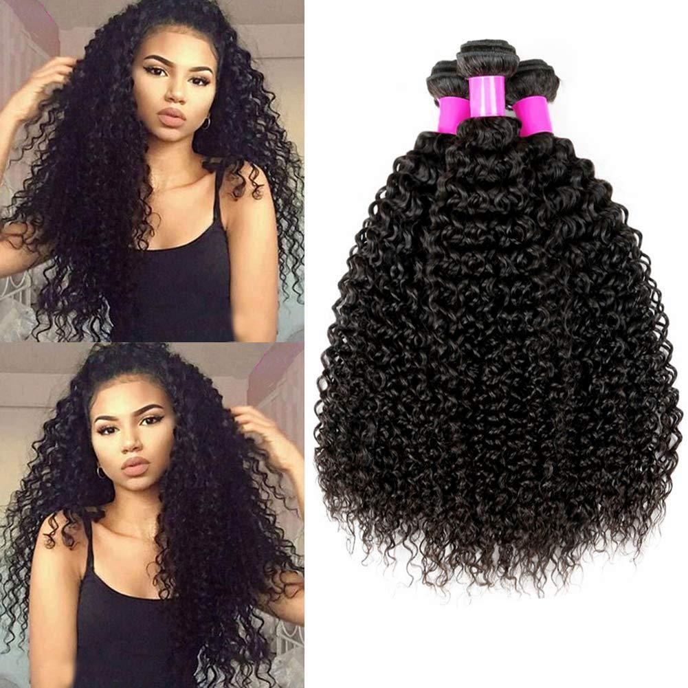 Cheap Grace Hair 9A Brazilian Kinky Curly Hair Bundles Unprocessed Virgin Human Curly Hair Bundles