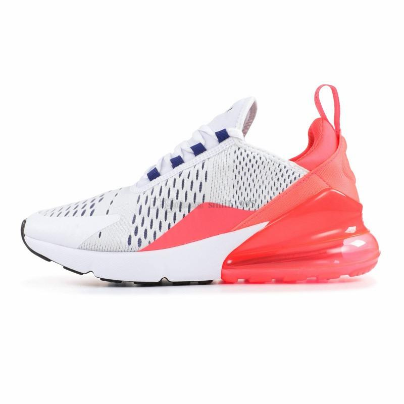 Compre Nike Air Max 270 Mujeres Zapatos Corrientes Blanco Rosa Mowabb Lavado Coral Space Purple Entrenamiento Deportes Al Aire Libre Mujeres